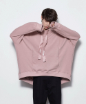 OVERSIZED FLARE HOODIE2 [PINK]