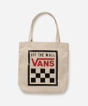 반스(VANS) VN0005DQM6U1 / BEEN THERE DONE THAT TOTE BAG - WHITE SAND OTW