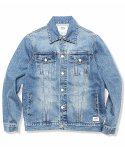 크래프티드(KRAFTED) LIGHT WASHED DENIM TRUCKER JACKET