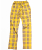 HT Chk Pants_Yellow