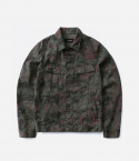 Flecktarn camo trucker jacket