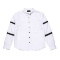 BLACKSCALE BALLISTIC OXFORD BUTTON DOWN WHITE