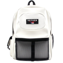 베테제(VETEZE) RETRO LEATHER SPORT BACKPACK - WH
