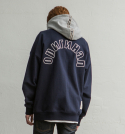 소버먼트 위드 로모트(SOVERMENT WITH LOMORT) [기모]soft 2color hoody-navy-