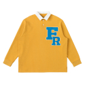 FRFR PATCH RUGBY T MUSTARD