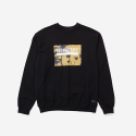 브라운브레스(BROWNBREATH) BOX CREWNECK LBC - BLACK