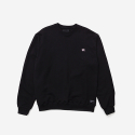 브라운브레스(BROWNBREATH) TAGGING CREWNECK - BLACK