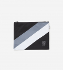 브라운브레스(BROWNBREATH) B BLOCK M.POUCH - BLACK