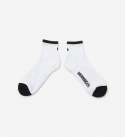 브라운브레스(BROWNBREATH) B SOCKS(QUARTER LENGTH) - WHITE