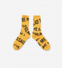 브라운브레스(BROWNBREATH) STM SOCKS - YELLOW(BLACK)