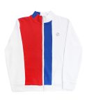[e by EASY BUSY] Malevich Track Top - White