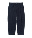 유니폼브릿지(UNIFORM BRIDGE) loose cropped chino pants navy