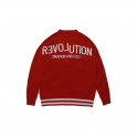 덕다이브() [DUCKDIVE]R.O CARDIGAN_RED