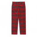 비바스튜디오(vivastudio) PLAID CHECK PANTS GS [RED]