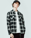 커버낫() 2PK OMBRE CHECK SHIRTS BLACK