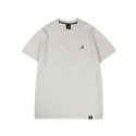 캉골(KANGOL) Basic Club Short Sleeves T 2543 Oatmeal