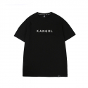 캉골(KANGOL) Text Logo Short Sleeves T 2544 Black