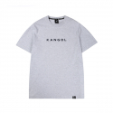캉골(KANGOL) Text Logo Short Sleeves T 2544 Grey