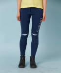 퍼스타드(FIRSTARD) [FIRSTARD] Knee joint point Leggings(NAVY)