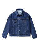 인사일런스() Oversized Denim Jacket (Blue)
