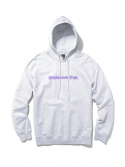 디스이즈네버댓() T-Logo Hooded Sweatshirt Grey