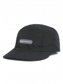 디스이즈네버댓() Rubber Logo Camp Cap Black