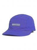 디스이즈네버댓() Rubber Logo Camp Cap Purple