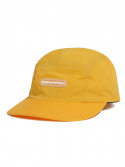 디스이즈네버댓() Rubber Logo Camp Cap Yellow