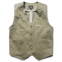 Cotton Circus Vest -Khaki-