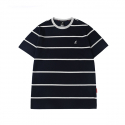 캉골(KANGOL) Multi-Stripe Short Sleeves T 2550 Navy