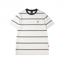 캉골(KANGOL) Multi-Stripe Short Sleeves T 2550 White