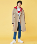 러브이즈트루() (UNISEX)KL TRENCH COAT_BE