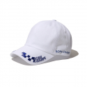 본챔스(BORN CHAMPS) RACE PATTERN CAP WHITE CEQFMCA02WH