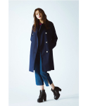 FRONT POCKET TRENCH COAT
