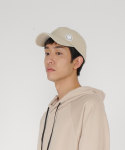 로우 투 로우(RAW TO RAW) side wappen ballcap(light beige)