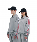 챈스챈스(CHANCECHANCE) Liberte Zipper Pk Sweatshirts(Gray)