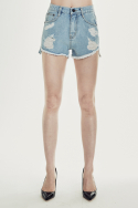 밀리언코르(MILLIONCOR) [Dana 8017] Light Destroyed Shorts