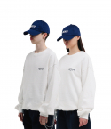 챈스챈스(CHANCECHANCE) Liberte Basic Sweatshirts(White)