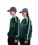 챈스챈스(CHANCECHANCE) Liberte Match Sweatshirts(Green)