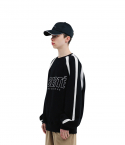 챈스챈스(CHANCECHANCE) Liberte Match Sweatshirts(Black)