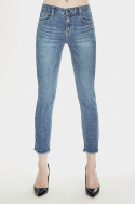 밀리언코르(MILLIONCOR) [Cona 9063] Light Brushed Jeans