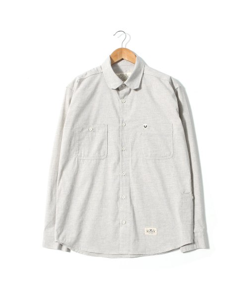헨더(HANDER) PROP SHIRTS [FEATHER GREY]
