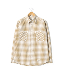 TAPE OVERLAP SHIRTS [BEIGE]