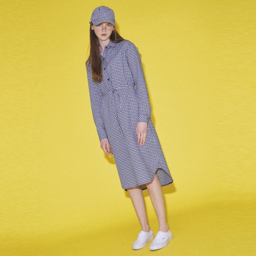 누이슈(NUISSUE) LONG SHIRT DRESS