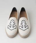 컬러콜라(COLOR COLLA) ANCHOR PATCH ESPADRILLES