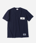 커버낫(COVERNAT) NAVAL POCKET T-SHIRTS NAVY