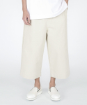heavy cotton healing pants(light beige)