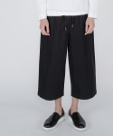 로우 투 로우(RAW TO RAW) washed cotton healing pants(black)