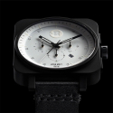 Square Chrono [Black / White]