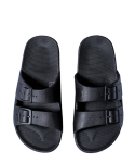 MOSES MEN FREEDOM SLIPPERS BLACK